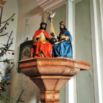 Barokk szobrok őrzője a templom